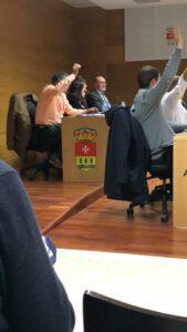 Pleno en el Ayuntamiento de Arroyo de la Encomienda